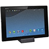 kwmobile Dockingstation mit intelligentem Magnetladeanschluss in Schwarz für Sony Xperia Tablet Z2 / Z3 Tablet Compact