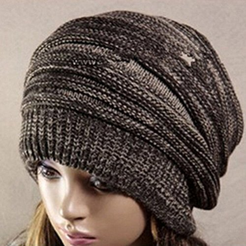 Pasabideak Hot Fashion Slouch Baggy Beanie Cap Slouchy Skull Hat Herren Damen Knit Hat (Skull Knit Beanie)