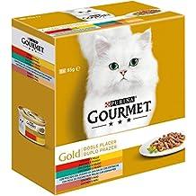 Gato Húmedo Gourmet Gold Doble Placer Pack Surtido ...