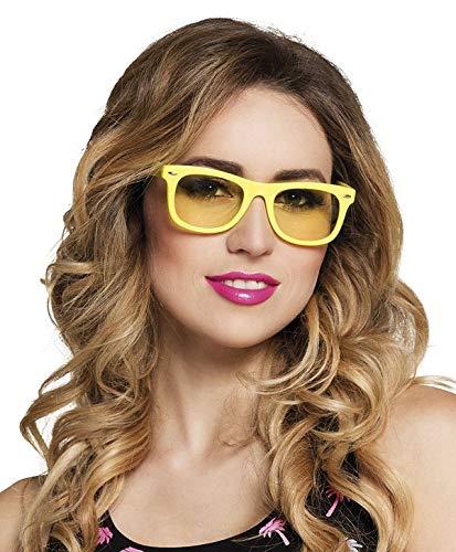 TH-MP 90er 80er Jahre Brille Sonnenbrille Party Outfit Zubehör Mottoparty JGA Junggesellenabschied Kostüm Accessoire ()