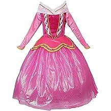 JerrisApparel Rosa vestido de princesa Disfraz Niña Vestido de fiesta vestido de Ceremonia