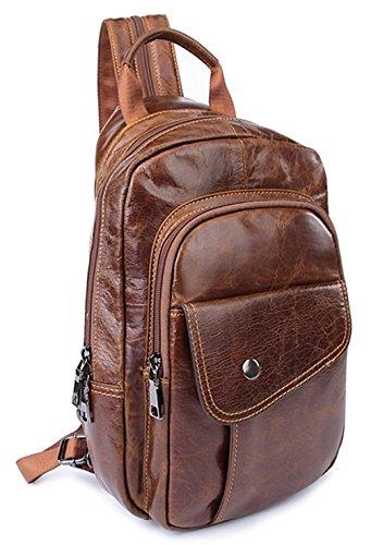 Leder Cool Damen accessories hohe Qualität Einfache Tasche Schultertasche Freizeitrucksack Tasche Rucksäcke Rot Keshi LGrdZc3