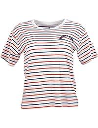 ARMOR LUX T-Shirt kurzarm Top 0 34 XS Marine weiß blau gestreift