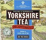 Yorkshire Decaffeinated Tea, 80 Teabags