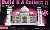 Build It and Collect It Taj Mahal 3D Puzzle by Charmland