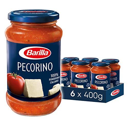 Barilla Pastasauce Pecorino - Sauce mit Pecorino Romano 6er Pack (6x400g)