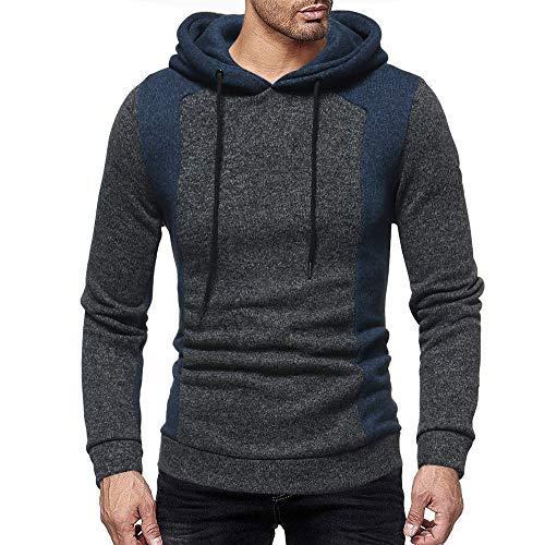 serliyHerren Hoodie, sportlicher Kapuzenpullover, schnelltrocknendes Sweatshirt für Männer mit Loser Passform Football Two Tone Collection Streetwear - Mc Hammer Kostüm Frauen