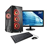 Sedatech Ultimate Gaming PC Paket Intel i9-9900K 8X 3.6GHz, Geforce RTX 2080Ti, 32 GB RAM DDR4 3000Mhz, 1 TB SSD M.2 NVMe, 3 TB HDD, WLAN, Bluetooth, HDMI 2.0, 23.6
