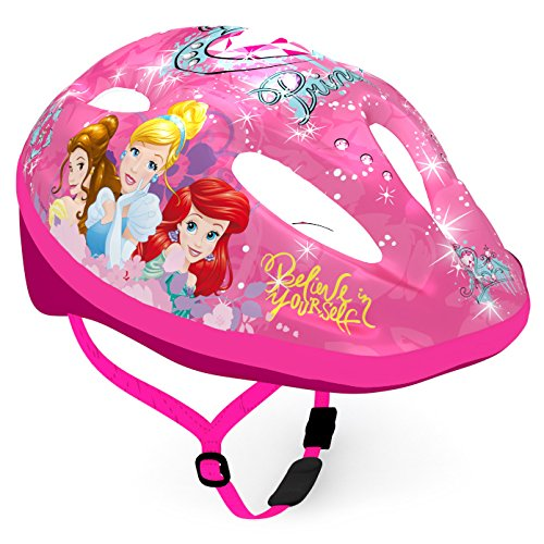 Disney Kinder Bike Helmet Princess Sports, Mehrfarbig, M