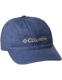 Columbia Roc Lo Gorra, Hombre, Azul (Zinc / British Tan), talla