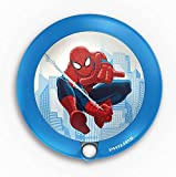 Philips Marvel Spiderman LED Nachtlicht, blau/rot, 717654016