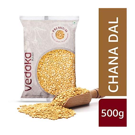 Amazon Brand - Vedaka Premium Chana Dal, 500g