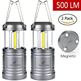 Best Camping Battery Storages - Moobibear 500lm LED Camping Lanterns with Magnetic Base Review