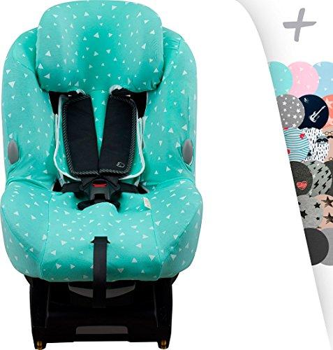 Housse pour Bébé Confort Milofix avec renfort central Air Confort...