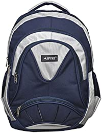 e0243ccd424f ... Waterproof Backpack  super cute 66f39 0d355 SPYKI Polyester 30 Ltr Navy  Blue White School Backpack ...