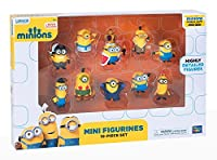 From the cool `MinionsÂŽ movie comes this set of 10 highly detailed mini figures. Each figure stands approx. 5 cm.