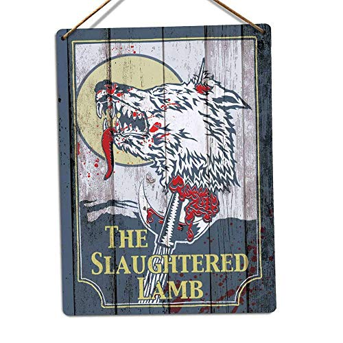 PotteLove The Slaughtered Placa Metal Pared, diseño