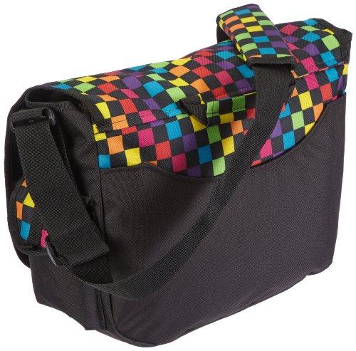 Yak Pak Borsa Messenger Umhängetasche Deluxe Messenger,  multicolore �?multi checkboard, 1755 multi checkboard
