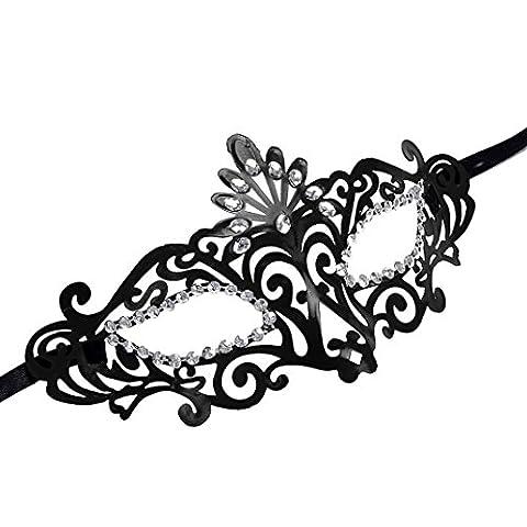 Masque Pour Prom - Fulltime® Masque vénitien Mode creux Masquerade Halloween