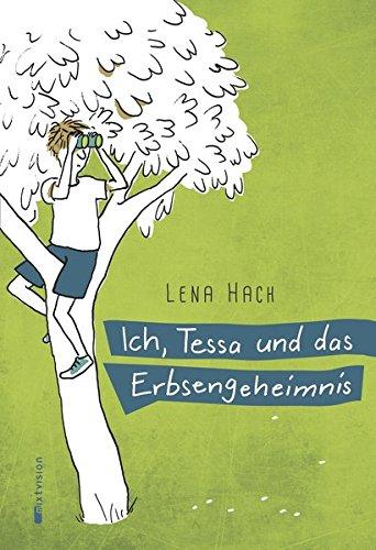 Buchseite und Rezensionen zu 'Ich, Tessa und das Erbsengeheimnis' von Lena Hach