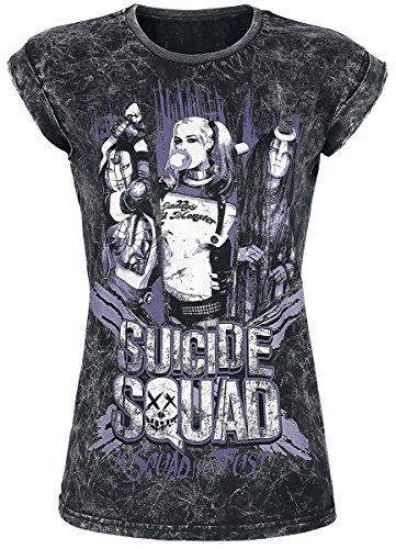 Suicide Squad In Squad We Trust Maglia donna grigio scuro XL