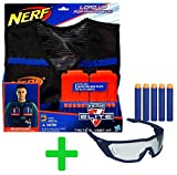 Hasbro Nerf N-Strike Elite Gear Set: Original Tactical Vest + Vision Gear Brille