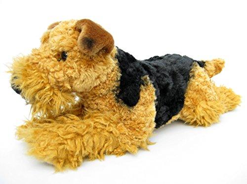 Plüschtier Hund Airedale Terrier - liegend - 45 cm