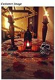 Luxbon 150 Stück künstliche Herbst Ahornblätter Ahorn Laub Herbstlaub Blätter für Unterlage Wandbild Türschild Party Hochzeit Weihnachten Deko - 6