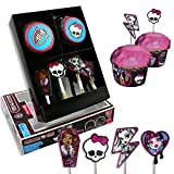 Dekoback 01-14-00727 Muffinset Monster High, 48 teilig