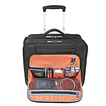 Everki 90981 Journey - Laptop Trolley – Rolling Briefcase  11-inch to 16-inch Adaptable Compartment