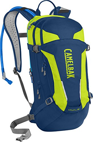 CamelBak 1115405900 - Pack y bolsa de hidratación para ciclismo, 12 litros, color parisian night
