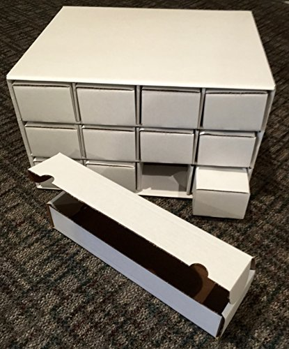 Card House Storage Box - with 12 800-Count Storage Boxes by BCW - 800 Count Storage Box
