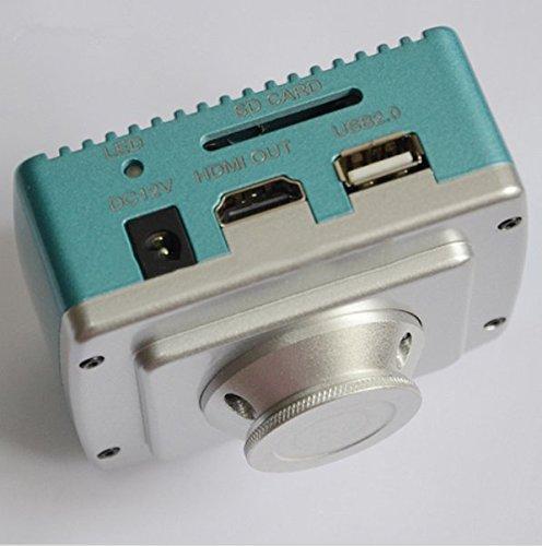 Gowe 1080P 60fps HDMI-Mikroskop Kamera/Industrie Kamera w/USB, SD Karte Speicherung und Maus Action Kamera