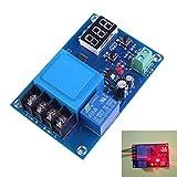 SODIAL XH-M602 placa de proteccion interruptor de control de carga de la bateria modulo de control de carga de la bateria de litio bateria de control digital