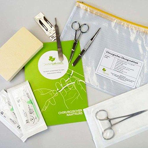 Chirurgisches Übungsnahtset (Chirurgisches Nahtmaterial, Nadeln)
