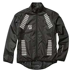Elite Cycling Project Men's Cyclone Waterproof Cycling Jacket Black L'