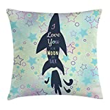 Best Chaises Office Star Patio - WCMBY I Love You Throw Pillow Cushion Cover Review