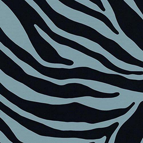 i.stHOME Klebefolie Möbelfolie - Zebra grau/schwarz - Dekorfolie 45x200 cm Grau Zebra