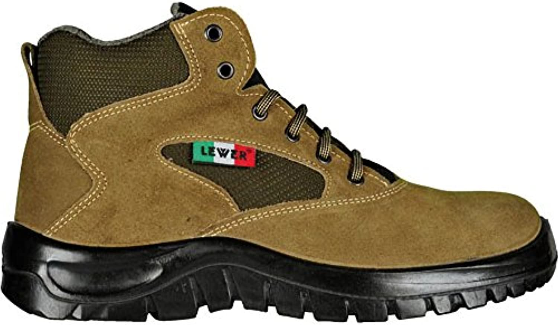 Zapatos de seguridad unisex LEWER antideslizantes TREKKING 992000 S1 CLASSIC - 46 -