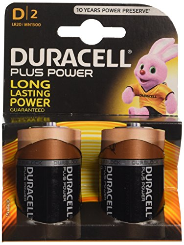 Price comparison product image Duracell Plus Power D2
