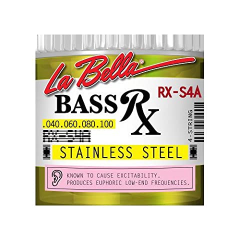 La Bella RX S4A String Bass RX Stainless Steel, 4