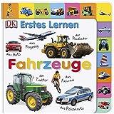 Erstes Lernen. Fahrzeuge: Pappbilderbuch mit Griff-Register und über 100 Fotos
