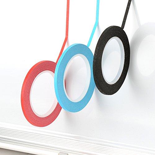 hsr-3-x-rolls-3mm-x-13m-self-adhesive-whiteboard-grid-gridding-marking-tape-non-magnetic-black-blue-