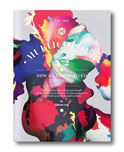 Palette 02: Multicolour: New Rainbow-hued Graphics por Victionary