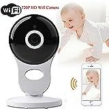Home Camera Mini Baby Pet Monitor Sistema di sorveglianza senza fili IP Security White immagine