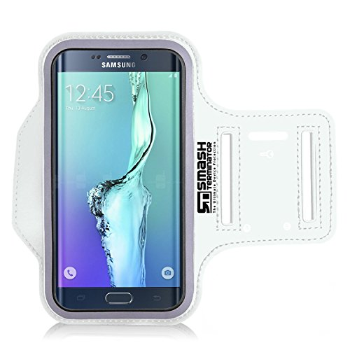 AllThingsAccessory® Samsung S7 Running Jogging Armband, Smash Terminator Sports Gym Arm Band Case Cover Holder with Key Holder For Samsung Galaxy S7 with Key Holder Slot (As Seen in Runners World Magazine - 5 Stars) NOT