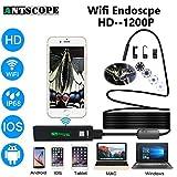 #6: Elvy 1000cm hardwire, Russian Federation, 8mm : Antscope WiFi Endoscope Camera Android iPhone Borescope Waterproof Camera Endoscopic Semi Rigid Hard Tube iOS WiFi Camera