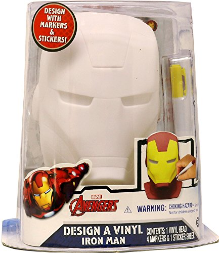 Marvel Ironman Design A Vinyl Craft Kit