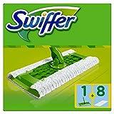 Swiffer Kit - 1 Mopa+8 Paños Secos para El Suelo