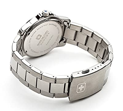 Police. 6-5231.04.007 - Reloj de cuarzo para hombre, con correa de acero inoxidable, color plateado de INTELIHANCE.